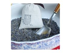 9 ideas for really special (and pretty easy) DIY gifts for the holidays. Lavender sachet tutorial at Design Sponge.