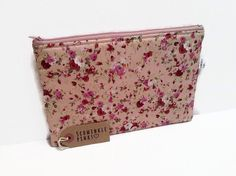 Pretty Floral Pencil Case Makeup Bag Cosmetic by SchminklePinks