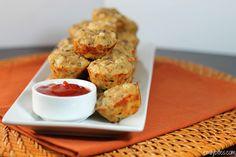 Emily Bites - Weight Watchers Friendly Recipes: Bacon Cheeseburger Mini Puffs