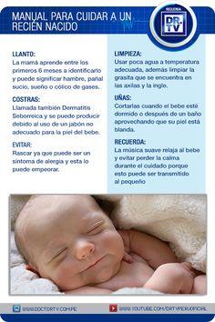 Conozca cuáles son los cuidados que necesita un Recién Nacido
