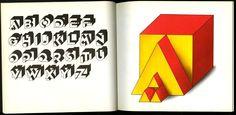 From Herbert Spencer : New Alphabets Herbert Spencer, Typography, Lettering, Alphabet, Home Decor, Letterpress, Decoration Home, Letterpress Printing, Room Decor
