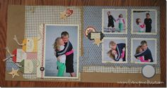 Love, Love, this paper so much you can do with it! Beach pictures and Fall pictures work. Very versatile!