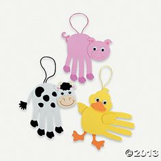 Farm Animal Handprint Craft Kit