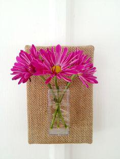 Spring Flower Sconce