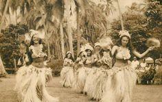 VINTAGE TAHITI: TAHITIAN DANCING THEN | PURE TAHITI