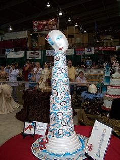 Tulsa Cake Show by Ally Cake Designs, via Flickr