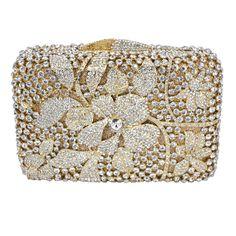 Crystal Bags Wedding Clutch Bags Luxury Diamante Evening Bags Handmade Soiree Pochette Sparkly Party_2     https://www.lacekingdom.com/