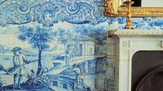 You can't miss them, wherever you are in Portugal. Tiles travel across all-time styles and languages and fill any pavement or visit with colour. Portugal, Portuguese Culture, Tile Panels, Tile Patterns, Tiles, Europe, History, Painting, Art