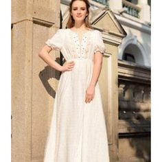 Classic Embroidered Bohemia Long Dress