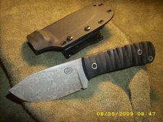 Amazingly talented custom knife maker