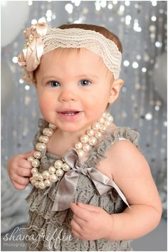 Shana Griffin Photography first birthday cake smash photo setup. Bead curtains, Salvage fashion grey paper, Pom poms, balloons, a romper and a cute headband! Birthday Cake Smash, First Birthday Cakes, Birthday Ideas, Cake Photography, Cake Smash Photos, Cute Headbands, Beaded Curtains, Baby Pictures, First Birthdays
