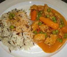 Geschnetzeltes Hähnchen oder Pute mit Reis , Gemüse und Sauce all in one von anriechers auf www.rezeptwelt.de, der Thermomix ® Community