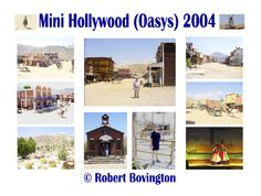 2004 - My grandson Jamie visited - spent a day at Mini Hollywood near Tabernas