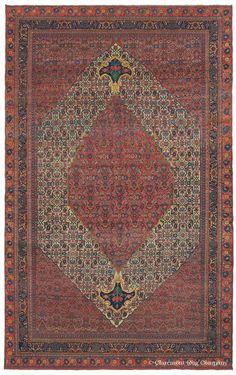 BIJAR - Northwest Persian 11ft 0in x 17ft 4in Circa 1875