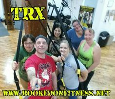 Once again these ladies kicked ass at the #HookedOnFitness #TRX Suspension Training Class!  #PhillyPersonalTrainer  #GroupFitness  #FitFam  #BestInPhilly  #BestInPhillyKeepsGettingBetter  For more information and the full class schedule please visit http://ift.tt/1Ld5awW Another shot from #HookedOnFitness