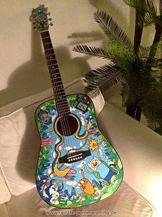 Guitarra de hora de aventura :3