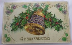 A-MERRY-CHRISTMAS-EMBOSSED-PRINTED-IN-GERMANY