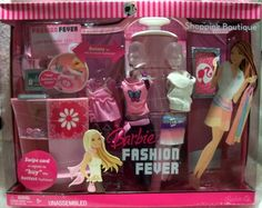 Fashion Fever Shopping Boutique Barbie Playset 2007 L5706 NRFB | eBay