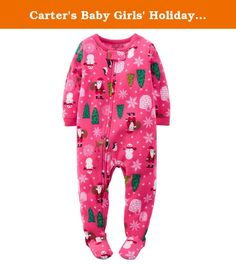 de8d87a955 Crtrs Girl s Size 3T Pink Christmas Trees