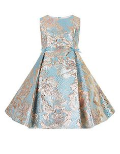 Alouette Jacquard Dress | Multi | Monsoon