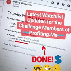 http://profiting.me Latest #ProfitingMe Watchlist Updates with my #SNAP Buy Trade to ride the Pumped IPO  LINK UP  I am a Trader of #ProfitingMe  #SupplyAndDemand #Trading  #ForexMentor #Trading #Indexes #Forex #Stocks #Commodities #PriceAction #WallStreet #Stockstrader #Forextrader #ForexTrading #ForexLifestyle #ForeignExchange #TraderLifestyle #StockMarket #ForexMarket #ForexLife #ForexSignals #TechnicalAnalysis #CurrencyTrader #CurrencyAnalyst #SwingTrading #SwingTrader #TradingView…