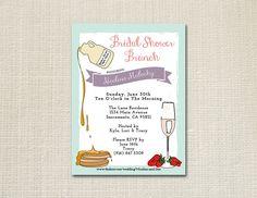 Ladies Who Brunch  // Bridal Shower Invitation