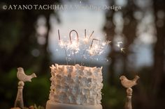 Hawaii,Sunset Ranch Wedding_ハワイウエディング_produced by AYANO TACHIHARA Wedding Design wedding,cake