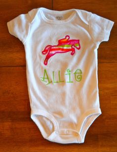 Personalized Horseback Riding Silouhette by tresbienboutique, $17.00