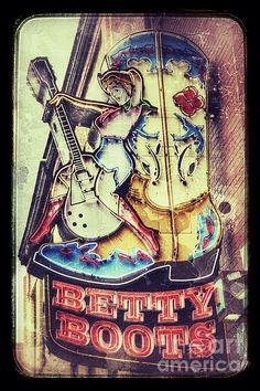 Betty Boots - Nashville by Debra Martz www.debramartz