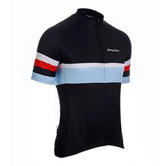 Rigby II Black Jersey from DannyShane | Designer Cycling Apparel
