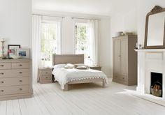 Camden Pebble Wooden Bed Frame £279