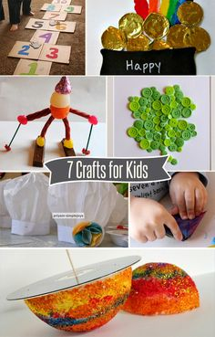 7 Featured Crafts for Kids
