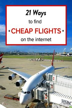 21 ways to find cheap flights online