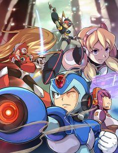 Mega Man X by TAG990