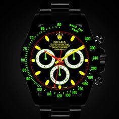Rolex Watches Collection : Rolex Daytona Simulator Black-Out Concept - Watches Topia - Watches: Best Lists, Trends & the Latest Styles Rolex Watches For Men, Luxury Watches For Men, Cool Watches, Rolex Datejust, Rolex Wrist Watch, Rolex Daytona Watch, Black Rolex, Elegant Watches, Fashion Watches