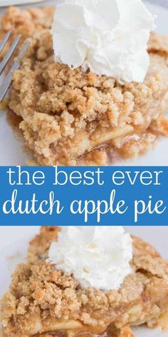 Fun Desserts, Delicious Desserts, Dessert Recipes, Yummy Food, Yummy Recipes, Best Apple Recipes, Easy Apple Pie Recipe, Best Ever Apple Pie, Desert Recipes