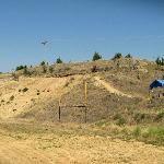 Fossil, Oregon, hillside - find your own fossils