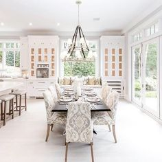 lovely! dining area kitchen