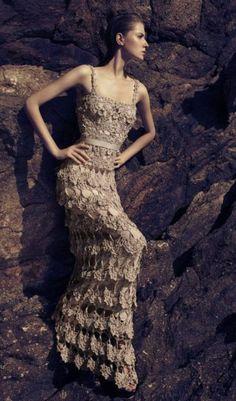 624910 Vestidos longos de crochê 8 Vestidos longos de crochê: fotos, dicas para usar crochet dress