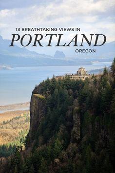 13 Breathtaking Viewpoints in Portland Oregon // localadventurer.com