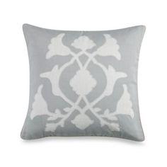 Barbara Barry® Poetical 18-Inch Square Applique Throw Pillow - BedBathandBeyond.com
