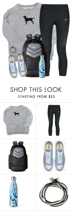 """""""nothing lasts forever"""" by kaley-ii ❤ liked on Polyvore featuring NIKE, S'well and NOVICA"""