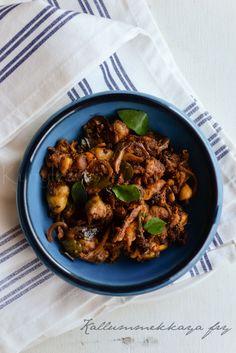 Kerala- Seafood Recipes Fish Recipes, Seafood Recipes, Vegetarian Recipes, Indian Prawn Recipes, Kerala Recipes, Paleo Curry, Prawns Fry, Kerala Food, Gluten Free Rice
