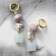 Be inspired with bead soup earrings!