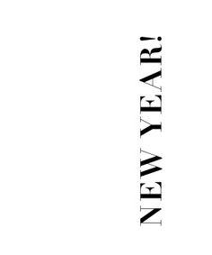 ✶ happy new year ✶