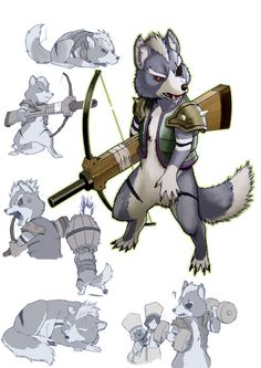 otomo wolf by koutanagamori on DeviantArt