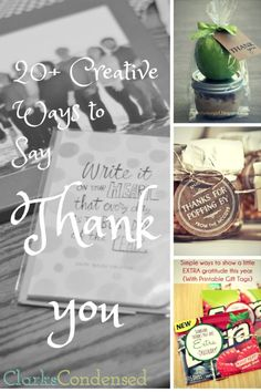 20 creative thank you gift ideas