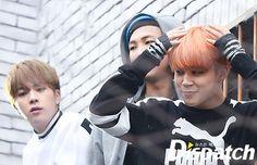 Jin, Rapmon, Jimin