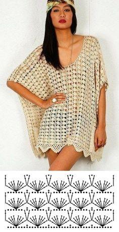 +10 modelos de blusa de crochê com gráfico do ponto Débardeurs Au Crochet, Hippie Crochet, Thread Crochet, Lace Knitting, Crochet Hooded Scarf, Crochet Cardigan, Crochet Shawl, Baby Girl Crochet, Crochet Woman