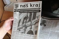 """TPD -Euronicsu sa tiez nepriesilo nechat sa spojit s rasistickymi hovnami?  """"Kotlebovi stopli peniaze na noviny Náš kraj, tak vydal Bystrický kraj"""""""